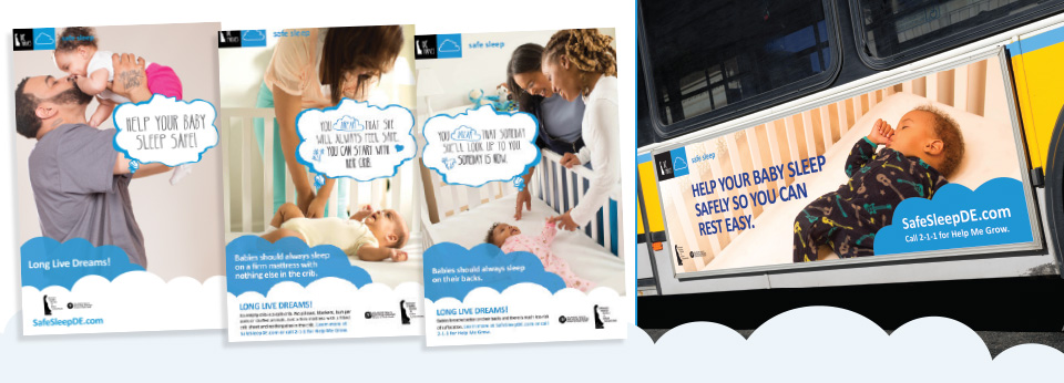 DHMIC Safe Sleep Campaign project image