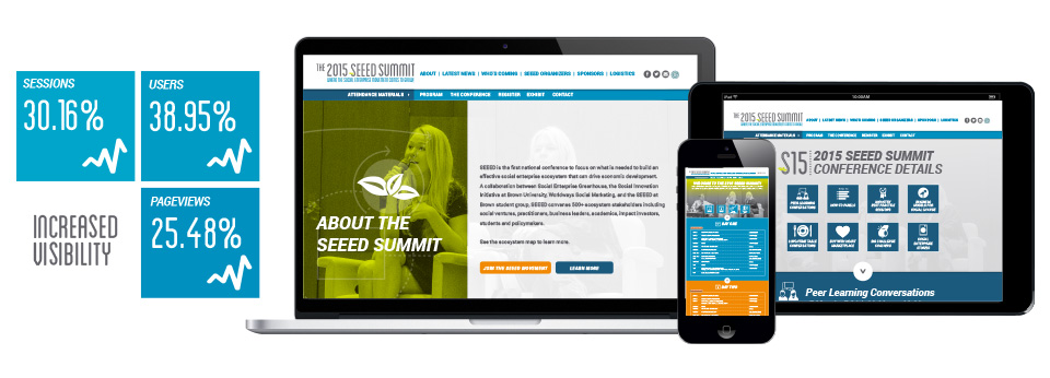 SEEED Conference Brand & Website project image