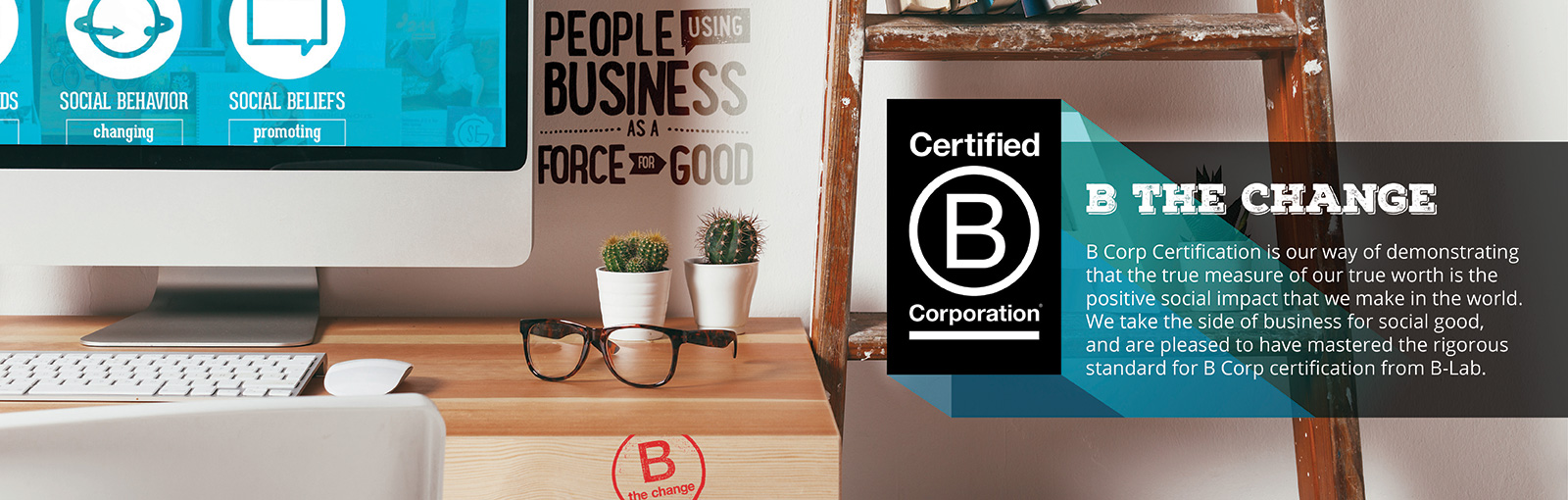 Worldways Social Marketing is now a certified B-Corp!